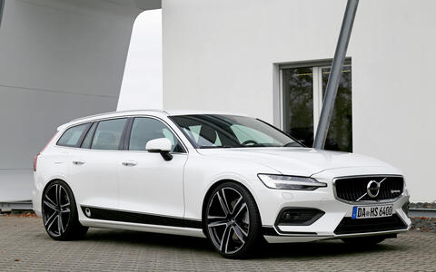 HEICO SPORTIV Volvo Tuning V60 (225) with black HEICO stripes (1)