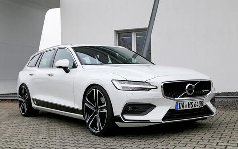 HEICO SPORTIV Volvo Tuning V60 (225) with black HEICO stripes (2)