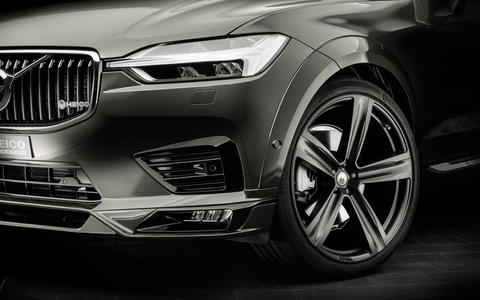 HEICO SPORTIV Volvo Tuning XC60 (246) Pine Grey, detail front