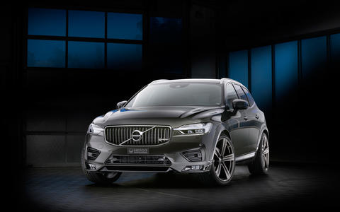 HEICO SPORTIV Volvo Tuning XC60 (246) Pine Grey Frontansicht