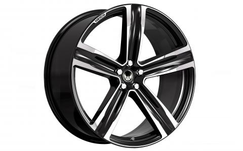 "HEICO SPORTIV Alloy Wheel VOLUTION V. 22"", black (1)"