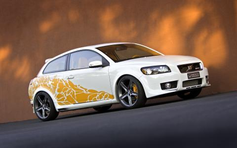 Volvo C30 T5 SEMA by HEICO SPORTIV, front (1)